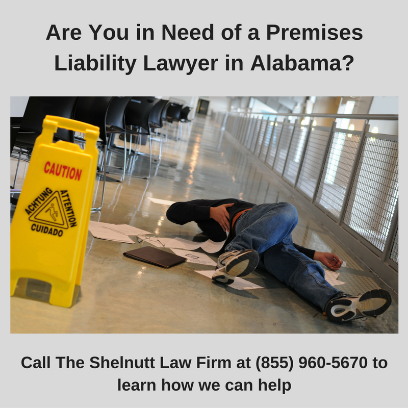 Gadsden Premises Liability Lawyer