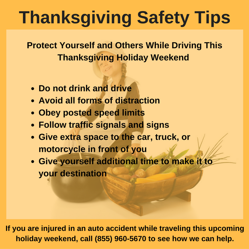 Travel safely this Thanksgiving. If you are injured while traveling in Alabama, call 256-547-4988 to learn how The Shelnutt Firm can help.